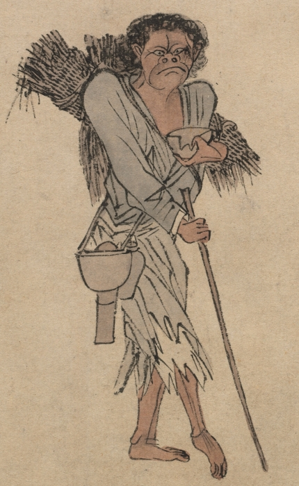 beggar by Zhou chen