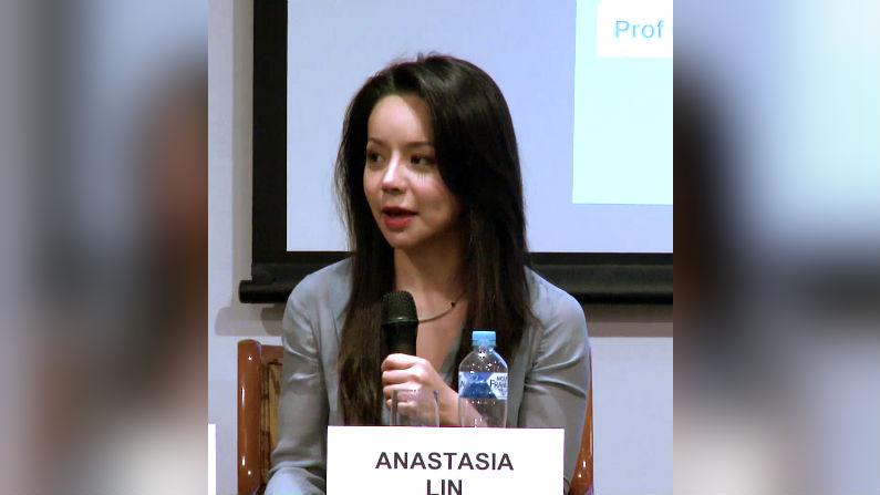 Anastasia Lin speaks at Panel in Sydney
