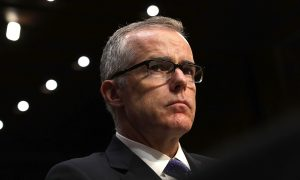 CNN Contributor Andrew McCabe, Fired From FBI for Lying, Says He Won't Talk About DOJ IG Report