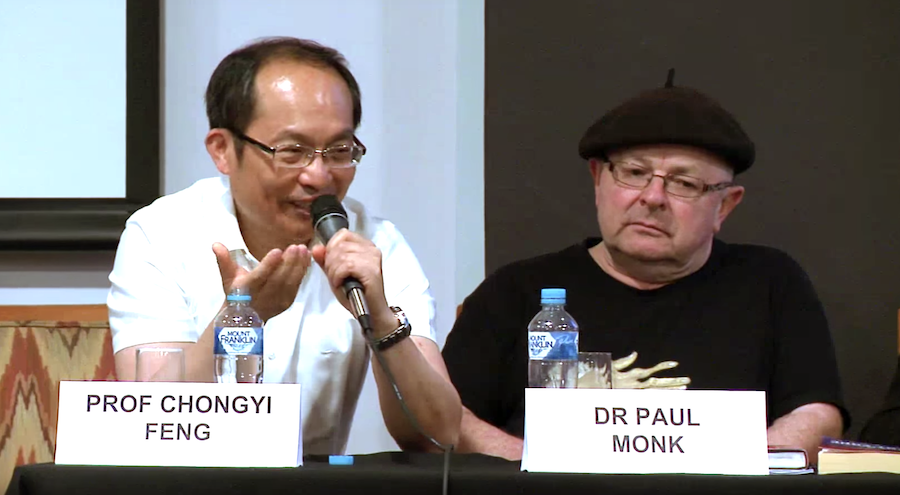 Feng Chongyi and Paul Monk in Sydney panel discussion