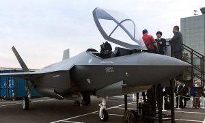 Japan's Military Says Pilot Vertigo Likely Cause of F-35 Crash