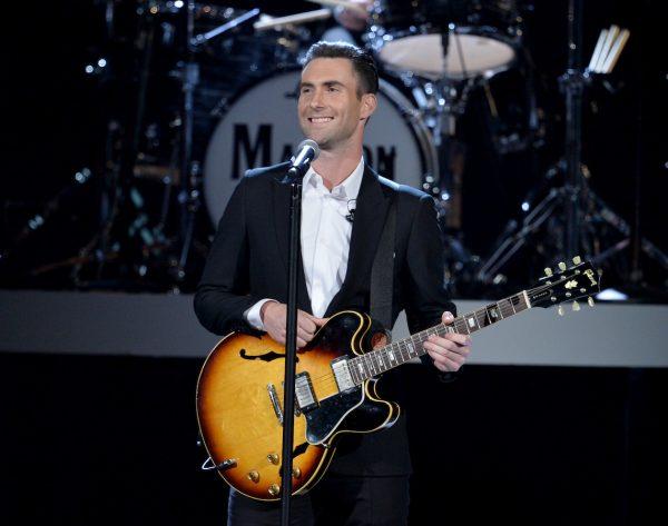 Adam Levine-Maroon 5-singer-artist-Grammys-los angeles