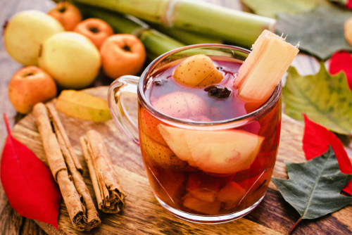 mexican fruits hot punch
