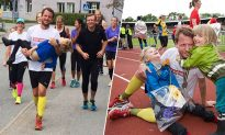 Dad and disabled son 'run' marathon 3 years in a row and inspire others with their bond