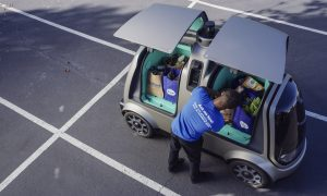 Need Some Milk? Driverless Cars Start Delivering Groceries