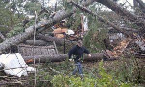 Rare Tornado Damages Homes in Washington State