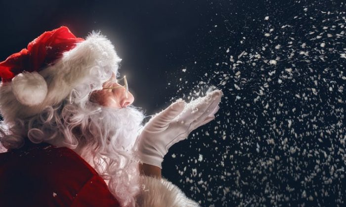Don't fret if your kids are starting to doubt Santa's magic. Coming to disbelieve is not particularly distressing for them and most come to their own conclusions. (Shutterstock)
