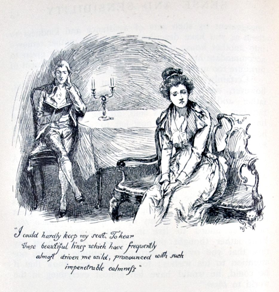 Illustration Chris Hammond 1899 Jane Austen