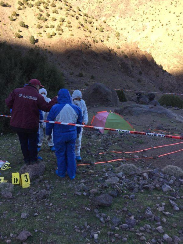 forensic team at crime scene
