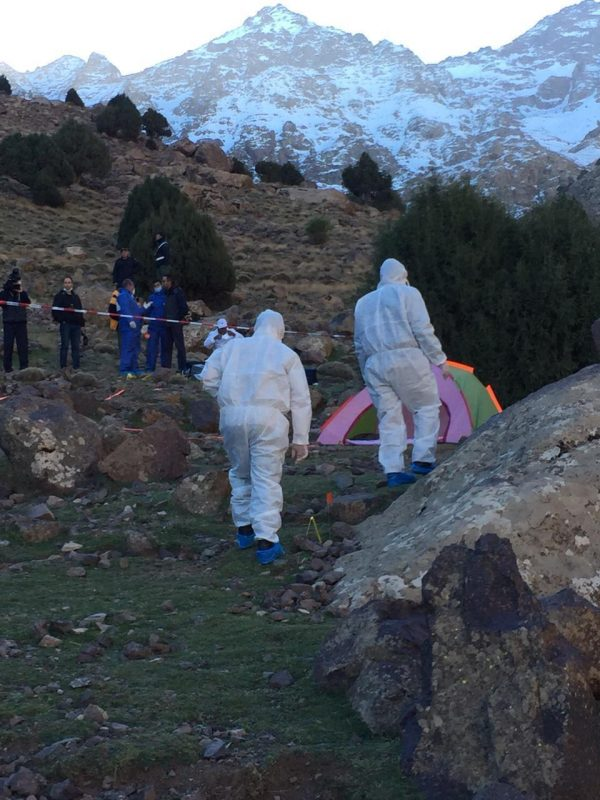 forensic team in Morocco