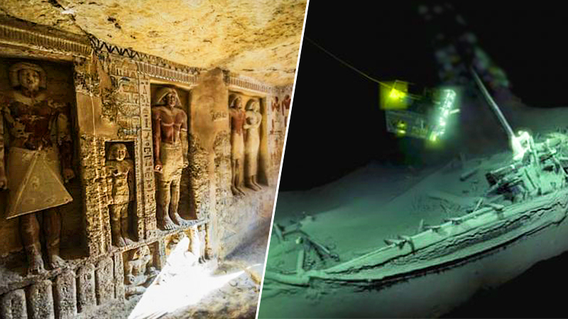 10 Extraordinary Archaeology Finds of 2018 From Around the World