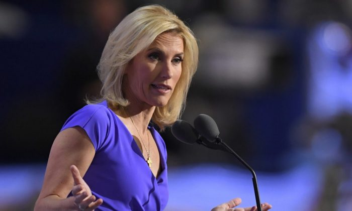 Conservative political commentator Laura Ingraham speaks during the third day of the Republican National Convention in Cleveland on July 20, 2016. (Mark J. Terrill/AP Photo)