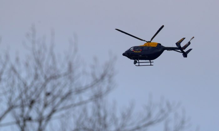 A helicopter (Dan Kitwood/Getty Images)
