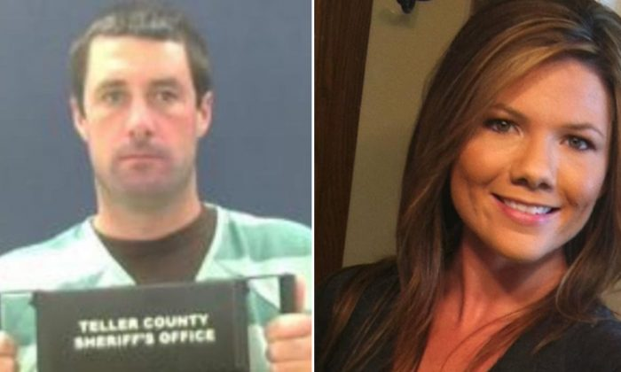 L: Patrick Frazee (Teller County Jail); Kelsey Berreth (Courtesy of Family of Kelsey Berreth's family via CNN)
