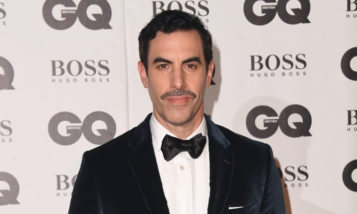 Sacha Baron Cohen at the GQ Men of the Year awards at the Tate Modern in London, on Sept. 5, 2018. (Stuart C. Wilson/Getty Images)