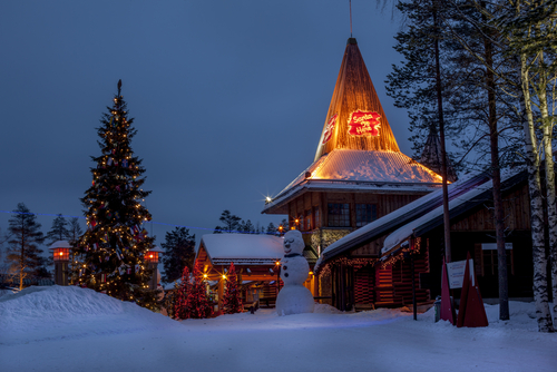 One of Santa's villages in Finland. (Shutterstock)