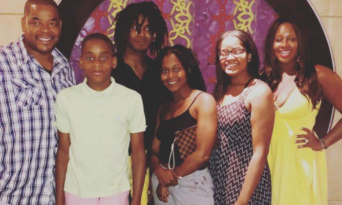 The McClain family. (Courtesy of Nikkia McClain)