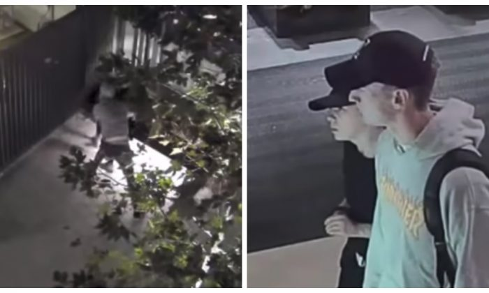Los Angeles Police Department released a video on Dec. 19 asking the public's help to identify a suspect who killed a homeless man in November. (Screenshot/LAPD)