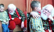 Son reveals to Santa his 'special needs' and their conversation had mom in tears