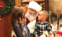 Innocent Girl Asks Santa to Heal Her Cancer-Stricken Cousin, His Response Had Dad Bawling