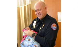 Woman Names Baby After Medic Who Saved Her During Wildfire