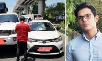 Young man forgives taxi driver who tried blaming him after crashing into his vehicle