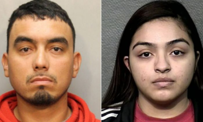 Olga Esquivel and Angel Esquivel-Blanco, of Humble, Texas, were charged this week in connection with the Sept. 16, 2018, death of their daughter, Alicia. (Harris County Sheriff's Office)