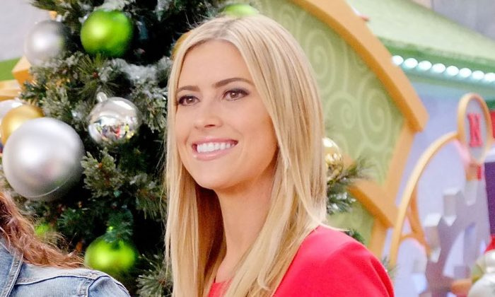 Christina El Moussa, co-host of HGTV's hit show Flip or Flop, visited the HGTV Santa headquarters at Lakewood Center in Lakewood, Calif., on Dec. 13, 2014. (Jerod Harris/Getty Images for Lakewood Center)