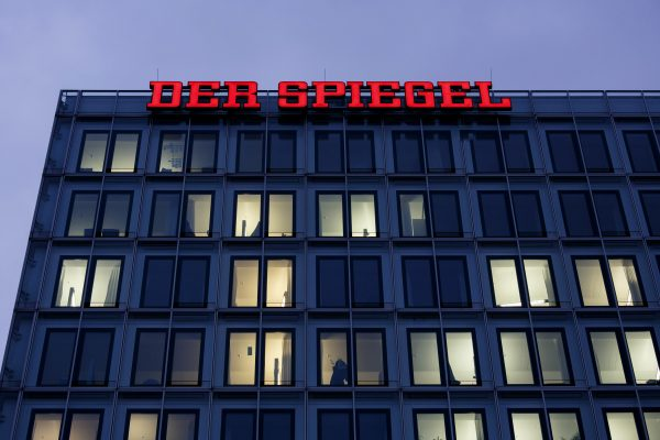 The offices of German newsweekly magazine Der Spiegel in Hamburg, Germany