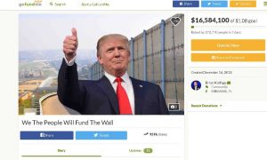 Triple Amputee Veteran Behind Border Wall GoFundMe Says He's Received Lots of Hate Mail