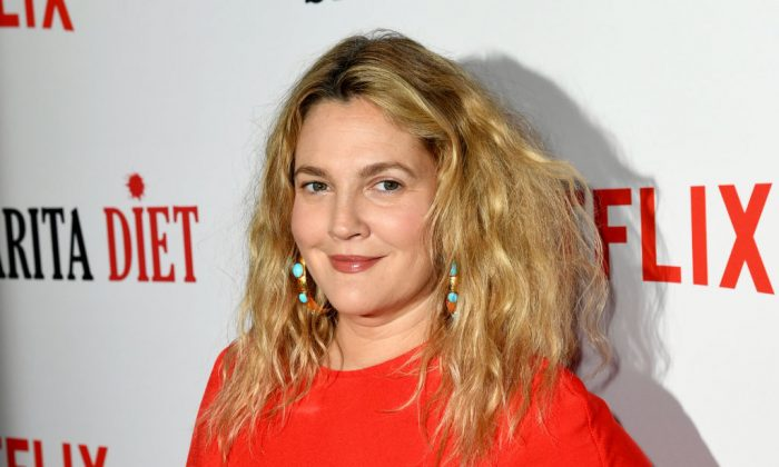 "Actress Drew Barrymore attends Netflix's ""Santa Clarita Diet"" season two premiere at the Dome at ArcLight in Los Angeles, on March 22, 2018.  (Kevin Winter/Getty Images)"