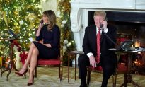 President Trump and First Lady Take Children's Santa Calls