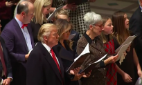 President Trump Attends Christmas Eve Services