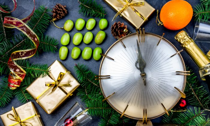 Eat and drink your way to good luck and prosperity in the new year. (Shutterstock)