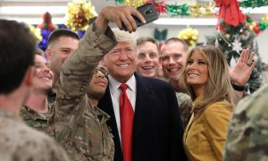 President Trump, First Lady Visit With US Troops in Iraq on Christmas