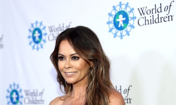 Brooke Burke attends the 2018 World of Children Hero Awards Benefit at Montage Beverly Hills in Beverly Hills, Calif., on April 19, 2018. (Rich Polk/Getty Images for World of Children )