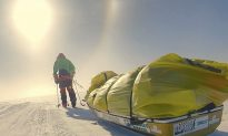 American Wins Race for First Unaided Solo Antarctica Crossing