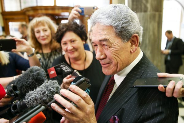 Deputy Prime Minister Winston Peters