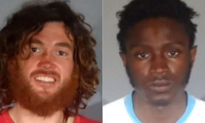 Elijah Smart, 29, and Markis White, 19, were arrested after allegedly breaking into an apartment in Santa Monica, Calif., on Dec. 26, 2018. (Santa Monica Police Department)