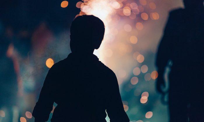 Silhouette of a boy. (Unsplash)