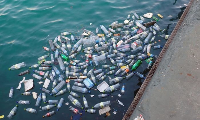 Bottles and cans are part of the plastic waste that is polluting the oceans. (MonicaVolpin/Pixabay)