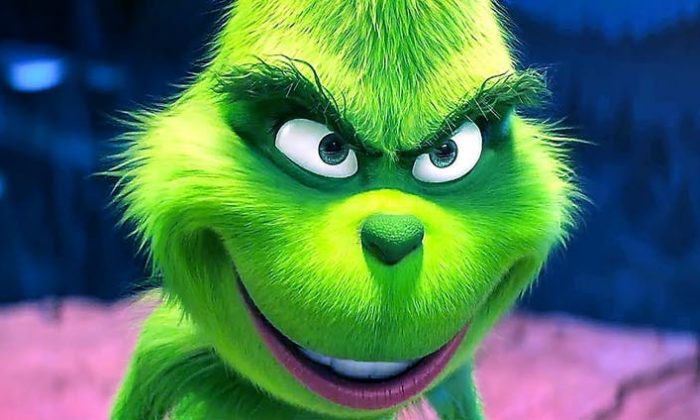 The Grinch as depicted in the recently released movie 'The Grinch.' (Illumination Entertainment)