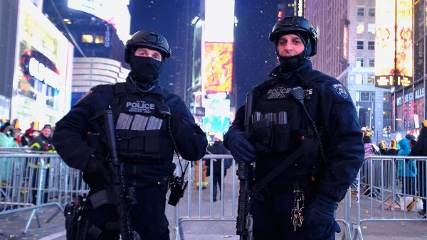Police Times Square New Year
