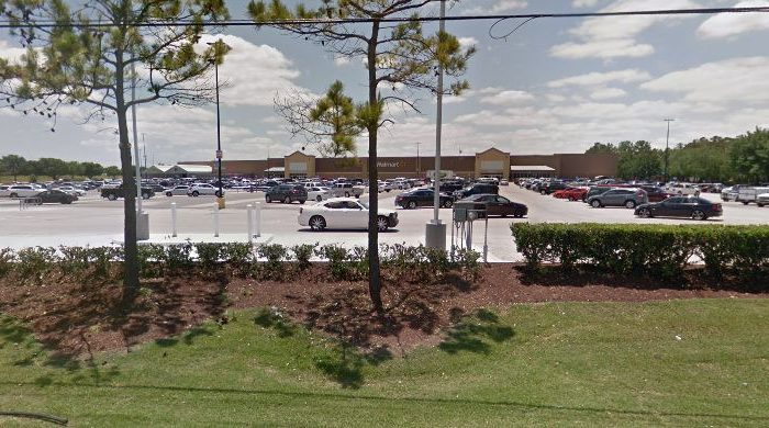The shooting occurred on the 15400 block of Wallisville in Harris County in the Walmart parking lot, on Dec. 30, 2018. (Google Street View)
