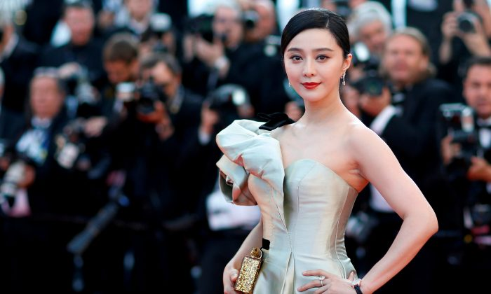 Chinese movie star Fan Bingbing was ordered to pay taxes and penalties $130 million for tax evasion in October, 2018. (Reuters/Stephane Mahe/File Photo)