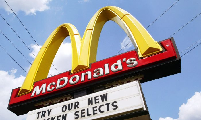 A McDonald's sign in a file photo. (Tim Boyle/Getty Images)