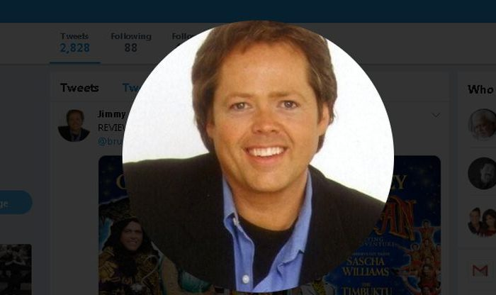"""Former Osmond star Jimmy Osmond had a stroke while he was appearing as Captain Hook in a performance of """"Peter Pan"""" in the United Kingdom. (Jimmy Osmond / Twitter)"""