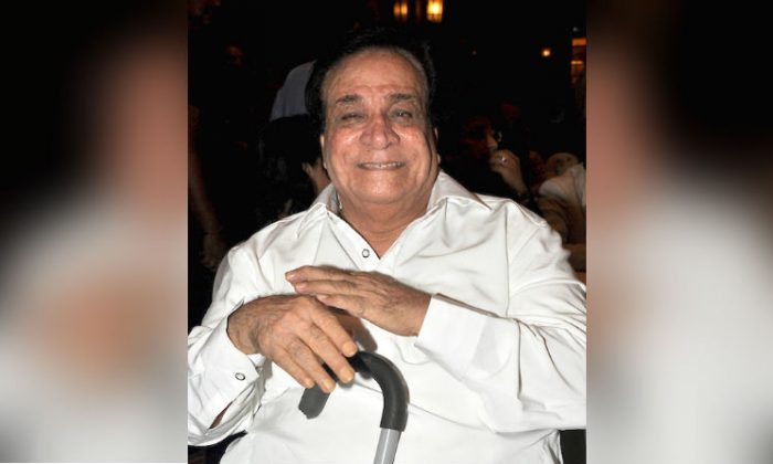 """Indian Bollywood actor and dialogue writer Kader Khan attends the launch of """"My World Within,"""" a book of poetry written by Indian lawmaker Kapil Sibal, in Mumbai on March 17, 2012. (STRDEL/AFP/Getty Images)"""