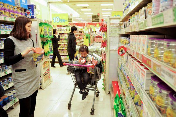 china milk powder