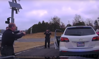 Police Release Dashcam of Baby Rescue During Suicide Standoff